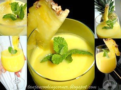 ananas kokos shake