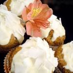 Eggless Banana Chocolate Coconut Muffins/ Banana-Kokos Muffini (bez jaja) s bijelom čokoladom