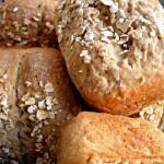 Oatmeal Bread Loaves/ Haferflocken-Kastenbrote/ Kruh sa zobenim pahuljicama