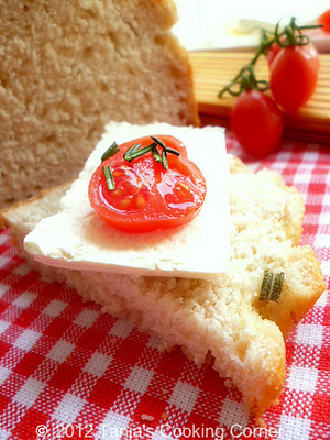Rosemary Garlic Bread II 058-1