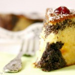 Cranberry Poppy Seed Yogurt Cake/ Jogurtni mak kolač s brusnicama