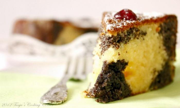 Poppy Cranberry Yogurt Cake tanjascookingcorner.com