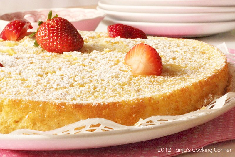 lemon quinoa cake