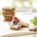 Olive Seed Crackers/ Integralni krekeri s maslinama