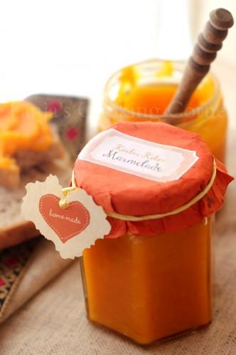 Pumpkin Coconut Jam/ marmelada od hokkaido bundeve i kokosa