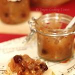 Honey Apple Rum Jam w/ roasted sunflower seeds/ aromatični medni džem od jabuka, ruma i sjemenki suncokreta