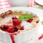 My new home & Fruit Berry Clafoutis