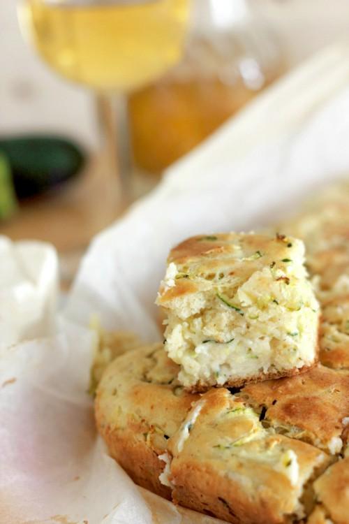 Zucchini Cheese Pie/ Pita s tikvicama i sirom