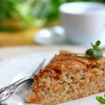 Egg-free Apple Carrot Cake | Kolač s jabukama i mrkvom bez jaja