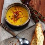 Carrot Ginger Soup | Krem juha od mrkve i đumbira